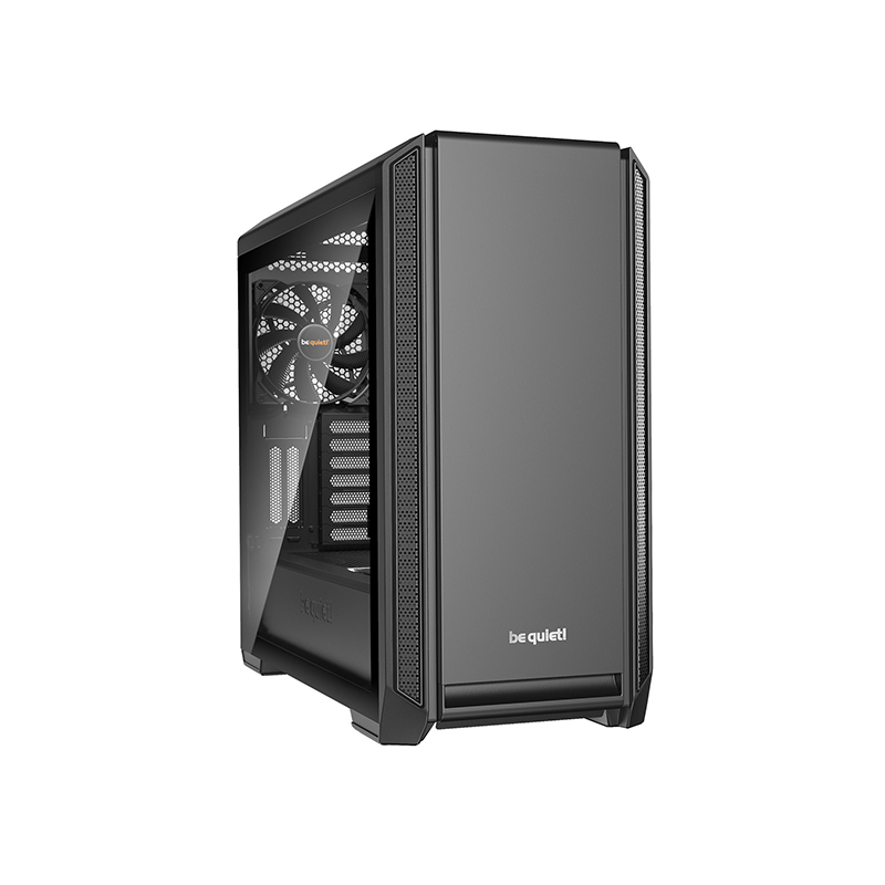 be quiet! Silent Base 601 Tempered Glass ATX Case - Black