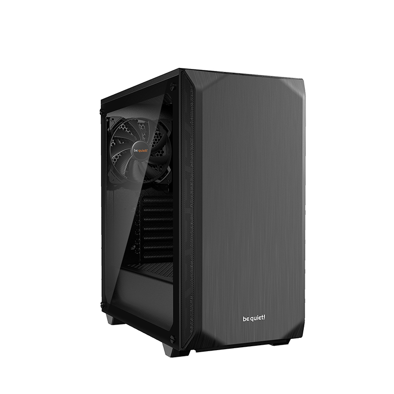 be quiet! Pure Base 500 Tempered Glass ATX Case - Black
