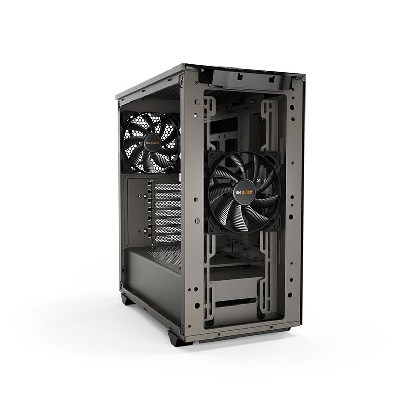 be quiet! Pure Base 500 ATX Case - Metalic Gray