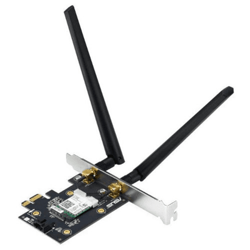 ASUS PCE-AX3000 Dual Band WiFi 6 Bluetooth 5.0 Wireless PCIe Adapter - OEM Packaging