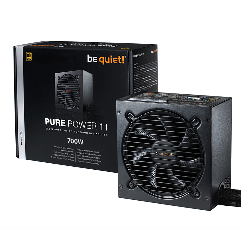 be quiet! 700W Pure Power 11 80+ Gold Power Supply (BN912)