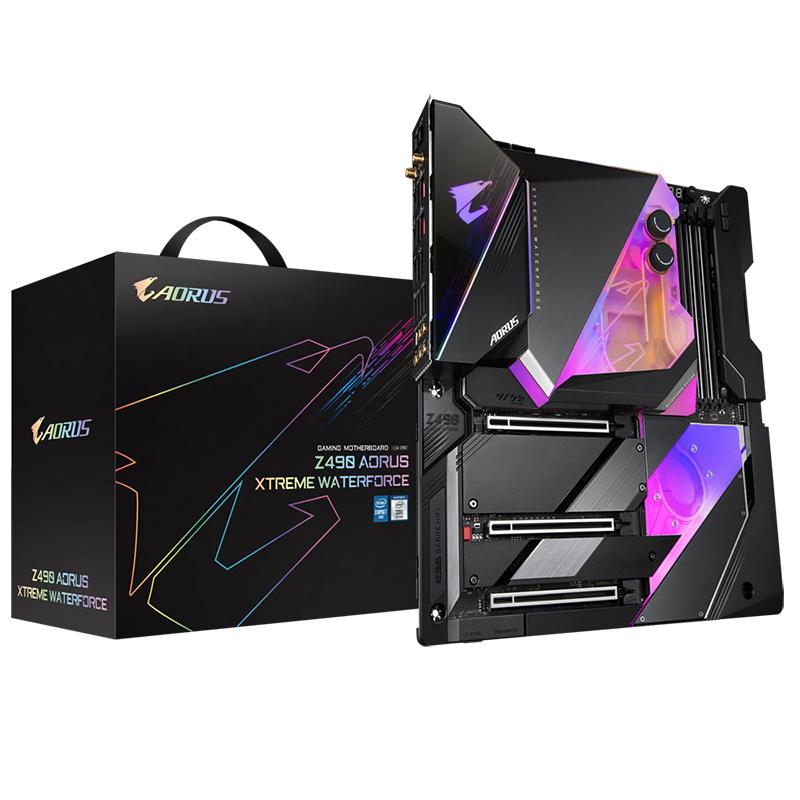 Gigabyte Z490 Aorus Xtreme Waterforce LGA 1200 E-ATX Motherboard