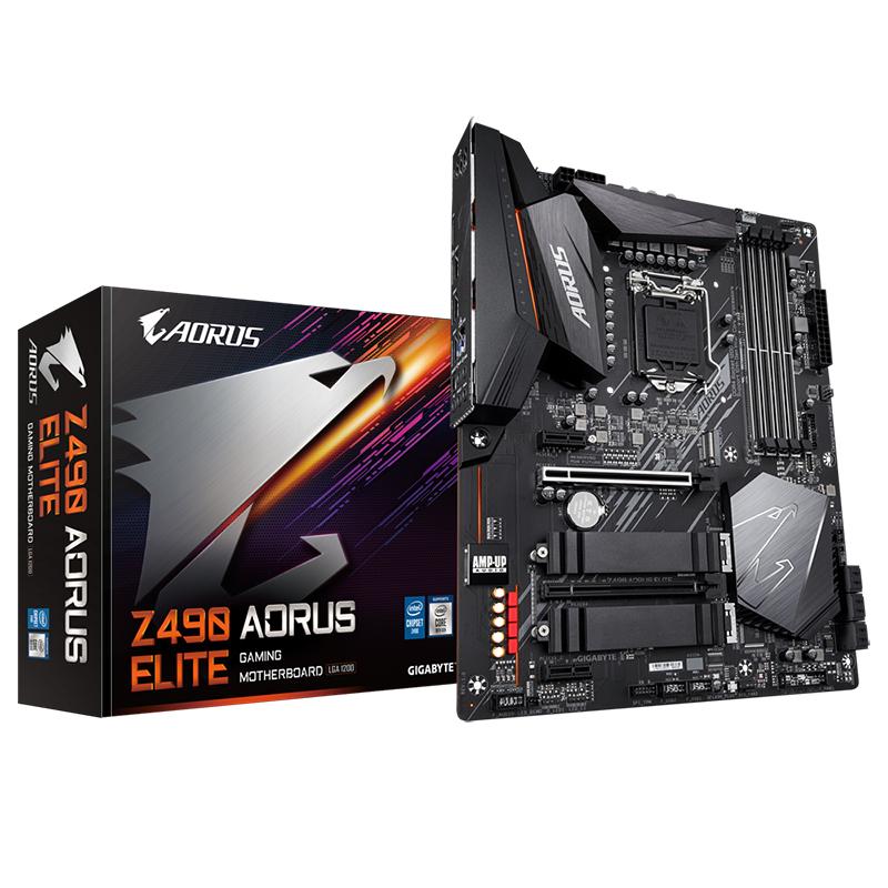 Gigabyte Z490 Aorus Elite LGA 1200 ATX Motherboard