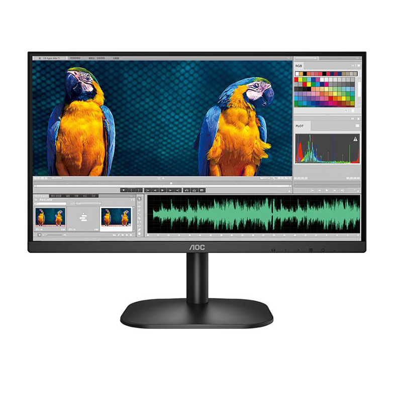 AOC 21.5in FHD VA 75Hz Frameless Monitor