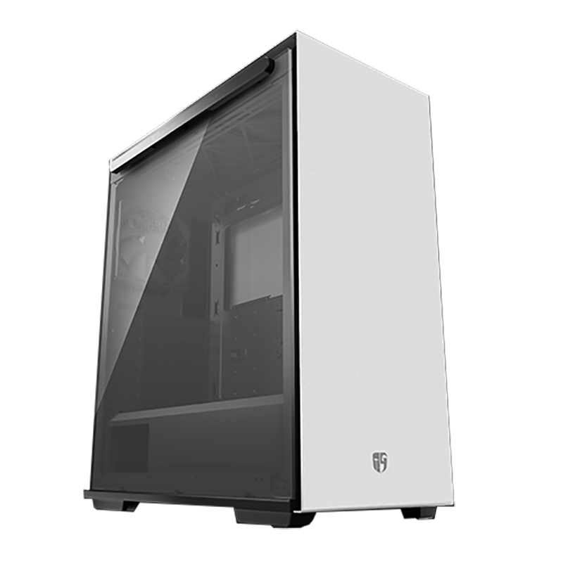 Deepcool Macube 310 TG Mid Tower ATX Case - White