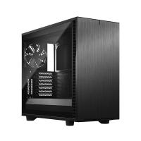 Fractal Design Define 7 Dark Tempered Glass Mid Tower E-ATX Case - Black