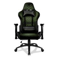 Cougar Armor One X Gaming Chair - Black/Military Green