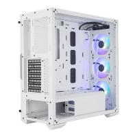 Cooler Master MasterBox TD500 Mesh Mid Tower E-ATX Case - White