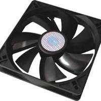 Cooler Master 120mm Silent Fan - Black