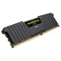 Corsair 8GB (1x8GB) CMK8GX4M1D3000C16 Vengeance LPX 3000Mhz DDR4 RAM - Black