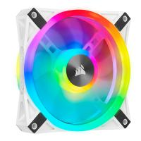 Corsair iCUE QL120 RGB 120mm PWM Fan White - 1 Pack