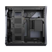 Fractal Design Era Mini ITX Case - Titanium Gray Walnut