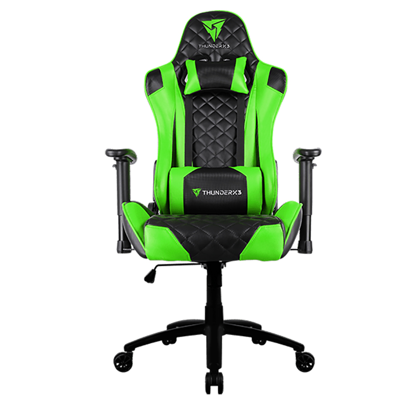 ThunderX3 TGC12 Series Gaming Chair Black/Green