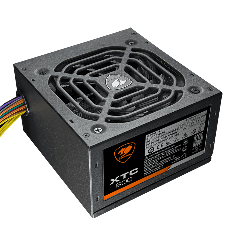 Cougar 600W 80+ White Power Supply (XTC600)