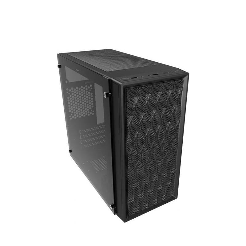 Casecom CMC-72 TG mATX Case with 550w PSU