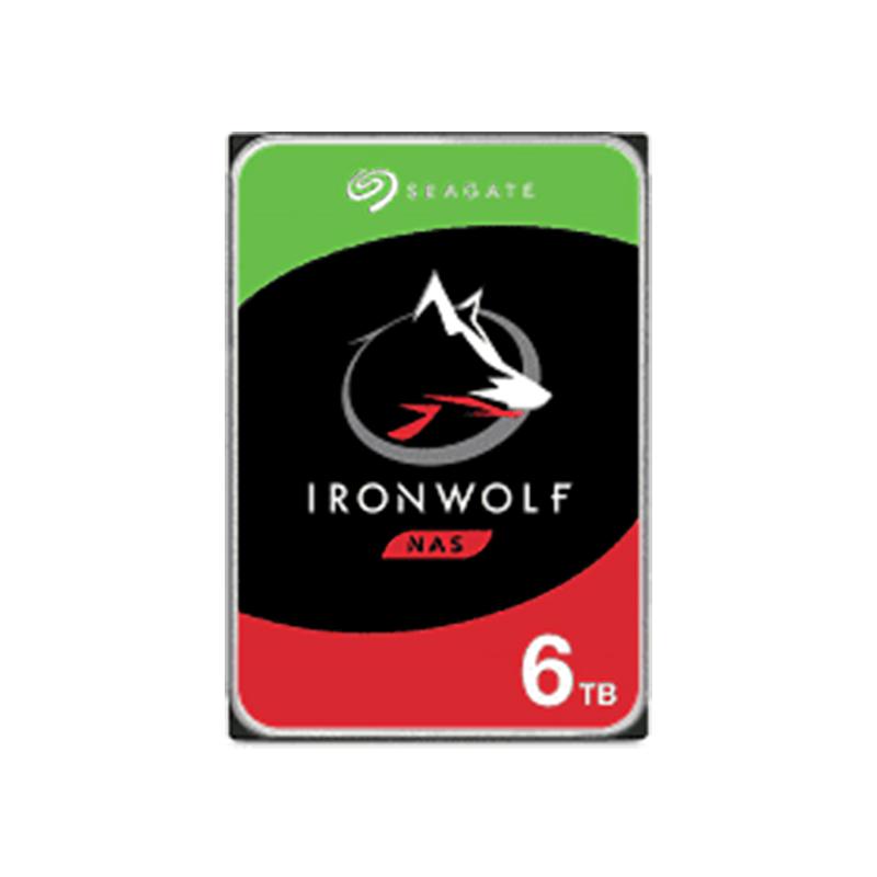 Seagate 6TB IronWolf 3.5in SATA NAS Hard Drive (ST6000VN001)