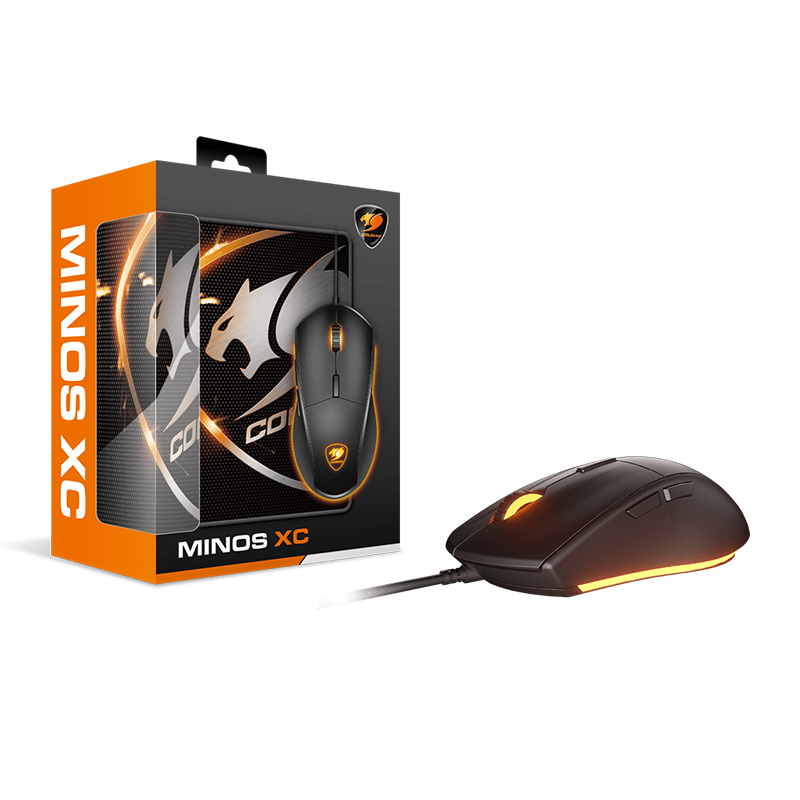 Cougar Minos XC Gaming Mouse and Mouse Pad Combo