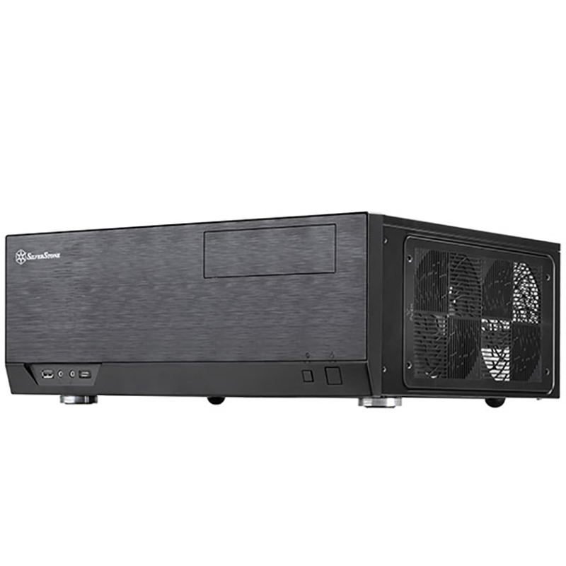 SilverStone GD09 Type C Grandia HTPC Case - Black