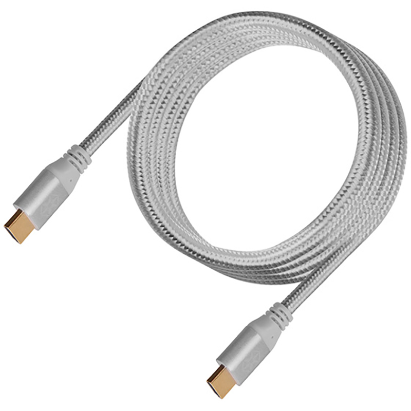 SilverStone CPH01C Premium Braided 4K HDMI Cable 1.8m - Charcoal