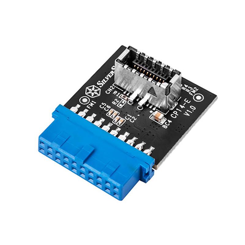SilverStone CP14-E Internal USB 3.0 to Internal USB Type C Adapter