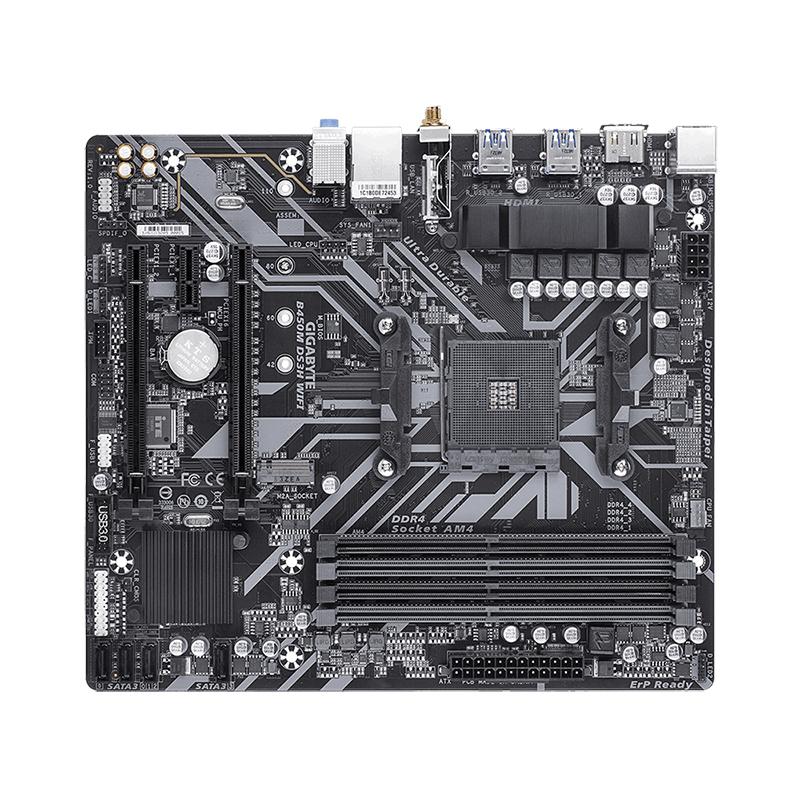 Gigabyte B450M DS3H WiFi AM4 mATX Motherboard