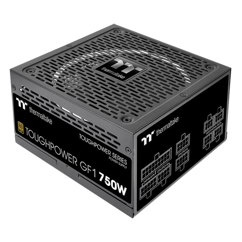 Thermaltake 750W Toughpower GF1 80+ Gold Power Supply (PS-TPD-0750FNFAGA-1)