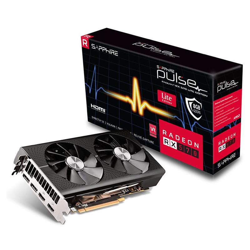 Sapphire Radeon RX 570 Pulse 8G Graphics Card