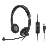 Sennheiser SC 70 USB MS Wired Office Headset - Black