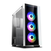 Deepcool Matrexx 55 V3 ARGB TG Mid Tower E-ATX Case - White