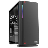 AZZA Zircon 7000 TG Full Tower E-ATX Case - Black (No Fans)