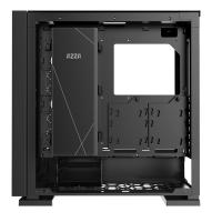 AZZA Zircon 7000 TG Full Tower E-ATX Case - Black (No Fans)