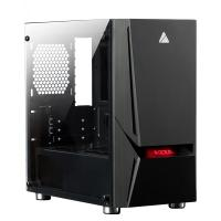 AZZA Luminous 110 RGB TG Mid Tower mATX Case (No Fans)