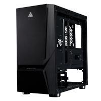 AZZA Luminous 110 RGB TG Mid Tower mATX Case (No Fans)