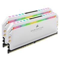 Corsair 32GB (2x16GB) CMT32GX4M2C3200C16W Dominator Platinum RGB 3200MHz DDR4 RAM - White