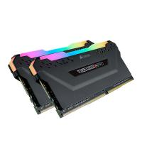 Corsair 32GB (2x16GB) CMW32GX4M2Z3600C18 Vengeance RGB Pro 3600MHz DDR4 RAM Black for AMD Ryzen