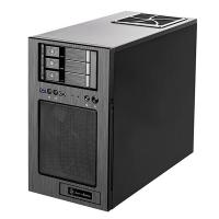 SilverStone CS330 Mini Tower mATX Case - Black