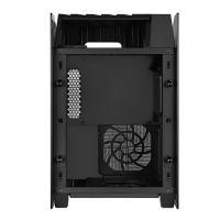 SilverStone LD03 AirFlow SFF Mini ITX Case - Black