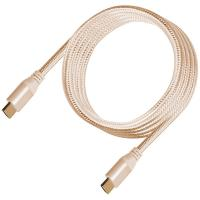 SilverStone CPH01G Premium Braided 4K HDMI Cable 1.8m - Gold