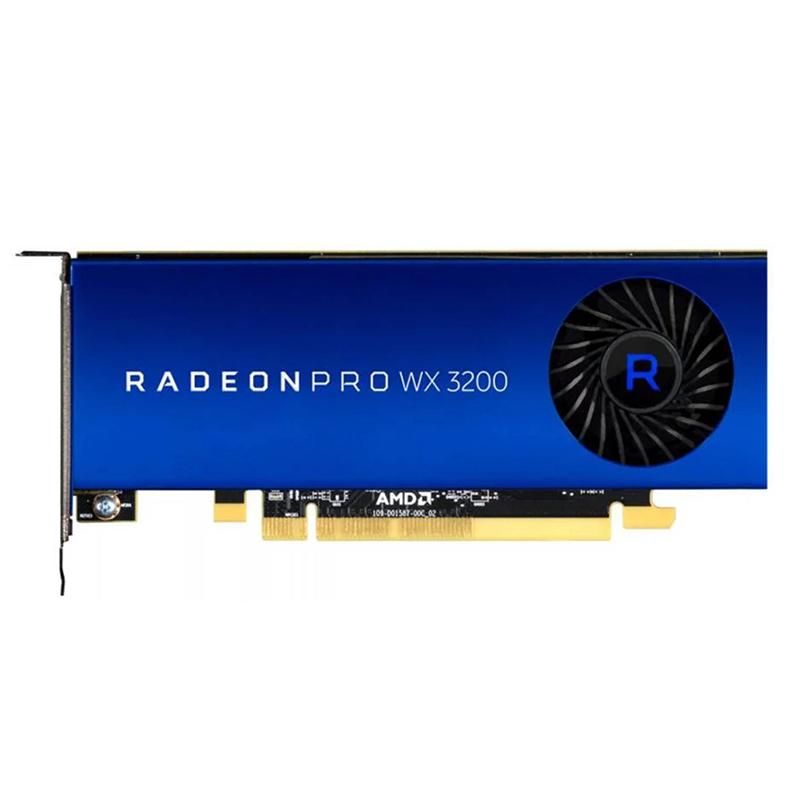 AMD Radeon Pro WX 3200 4G Workstation Graphics Card