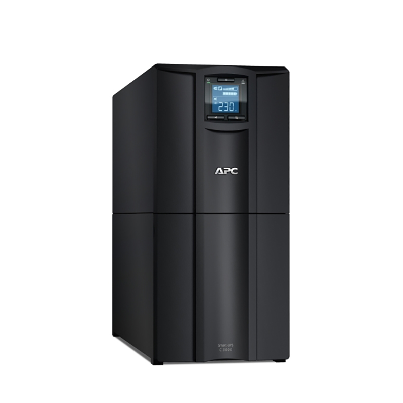 APC Smart UPS C 3000VA 230V LCD Tower UPS