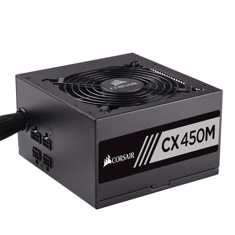 Corsair 450W CX450M 80+ Bronze Power Supply (CP-9020101-AU)
