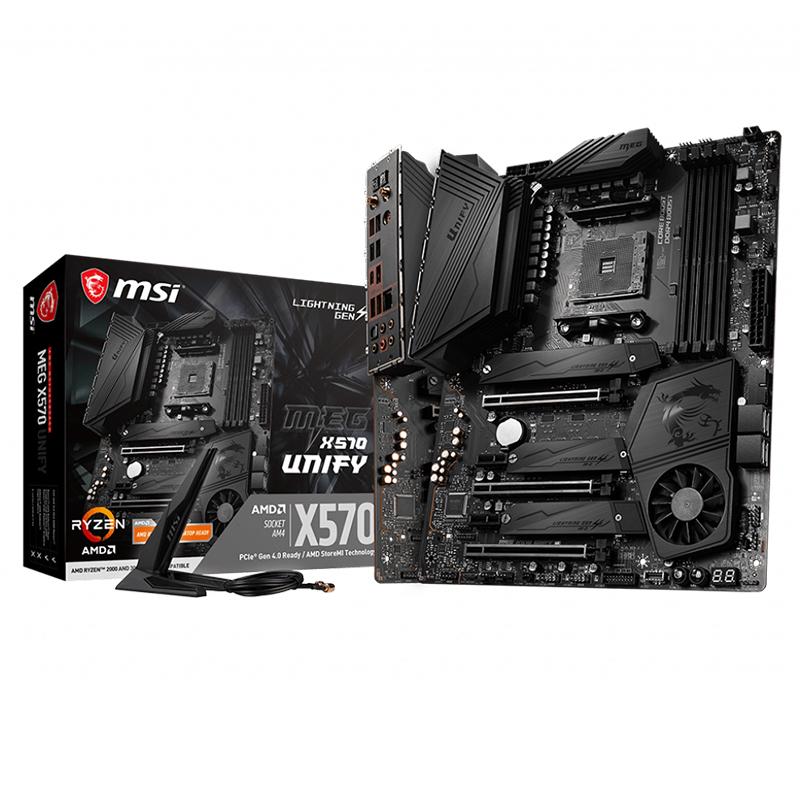 MSI MEG X570 Unify AM4 ATX Motherboard