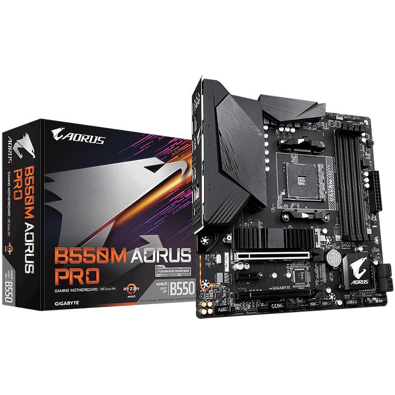 Gigabyte B550M Aorus Pro AM4 mATX Motherboard