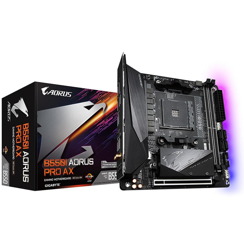 Gigabyte B550I Aorus Pro AX AM4 ITX Motherboard