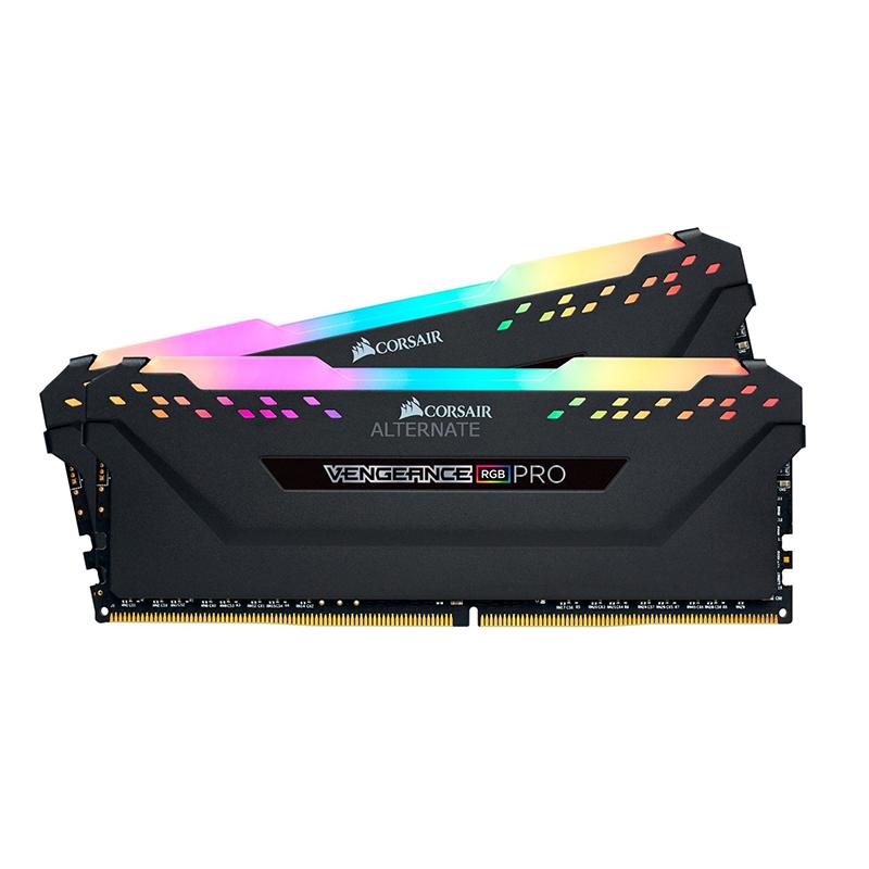 Corsair 16GB (2x8GB) CMW16GX4M2Z3600C20 Vengeance RGB Pro 3600MHz DDR4 RAM