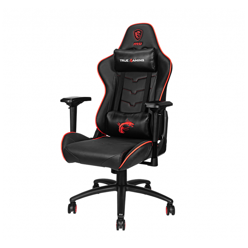 MSI MAG CH120X Gaming Chair - Red/Black