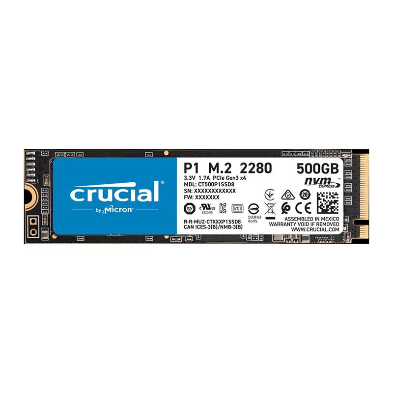 Crucial P1 2TB 3D NAND NVMe PCIe M.2 SSD