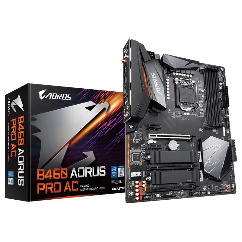 Gigabyte B460 Aorus Pro AC LGA 1200 ATX Motherboard