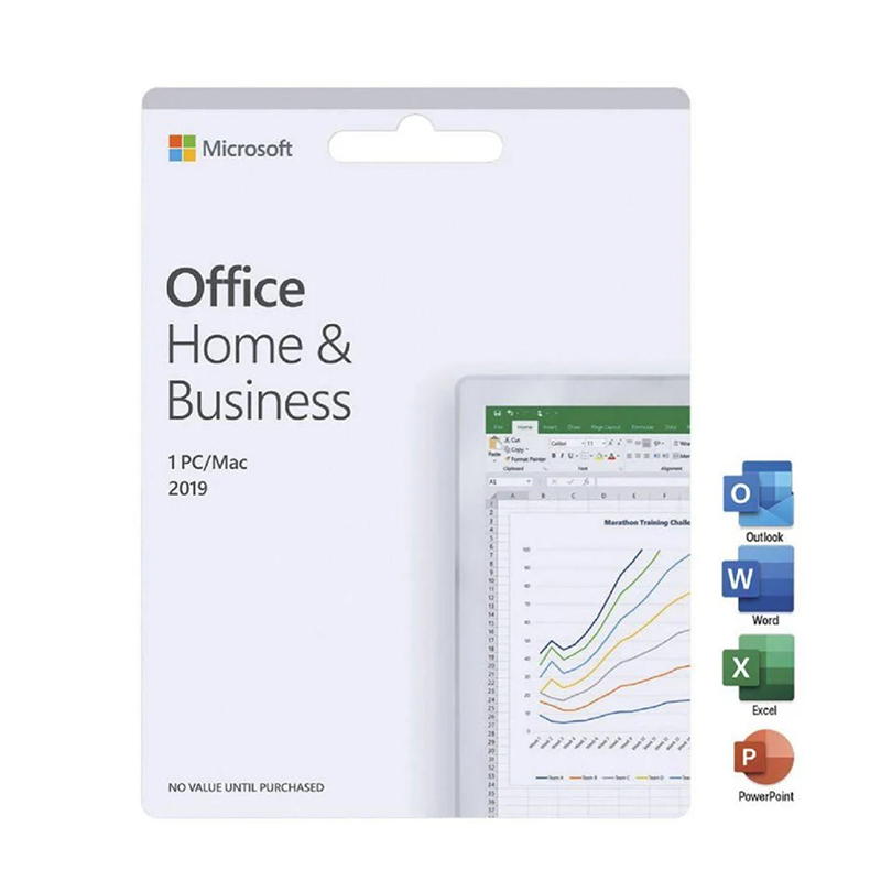 Microsoft Office 2019 Home and Business English APAC DM