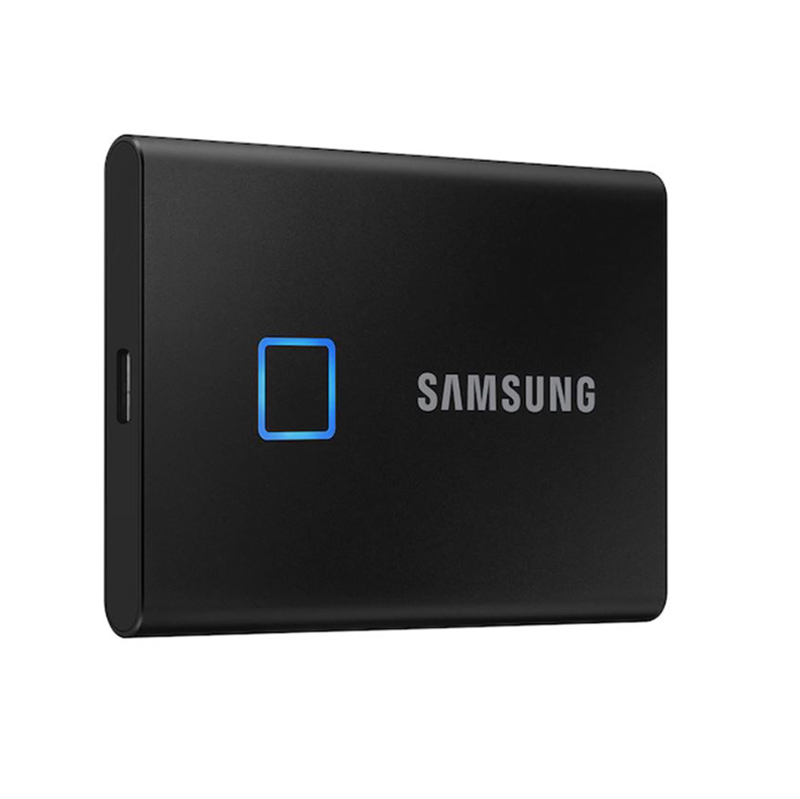 Samsung T7 500GB Touch USB Type C Portable SSD - Black